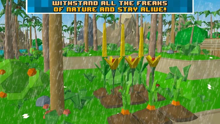 Pixel Pirate Island Survival Simulator 3D screenshot-3