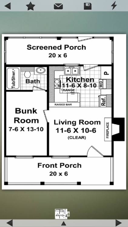 Cabin House Plans Info screenshot-2