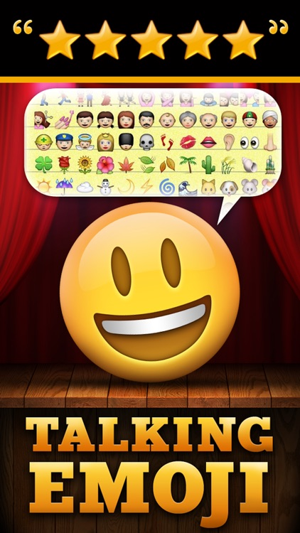Talking Emoji Pro - Send Video Texting Emoticons using Voice Changer and Dash Emoji Geometry Stick Game screenshot-0