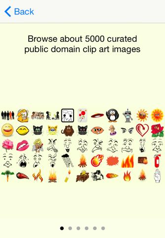 emOte Sticker Keyboard and Clipart screenshot 2