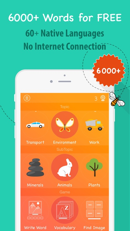 6000 Words - Learn English Language for Free screenshot-0