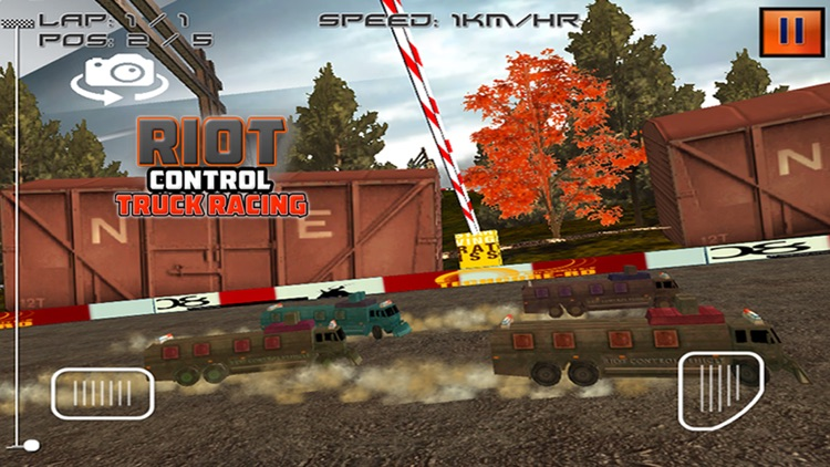 Riot Control Truck Racing screenshot-4