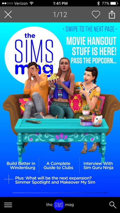 The Sims Magazine screenshot-1