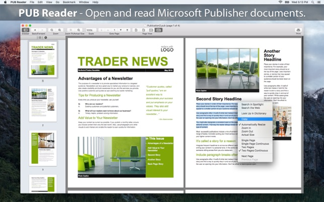 Microsoft publisher free for iphone