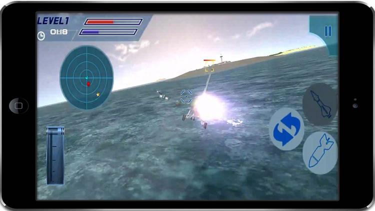 F16 Jet Fighter Air Sky Strike – aircraft missile war simulator screenshot-4