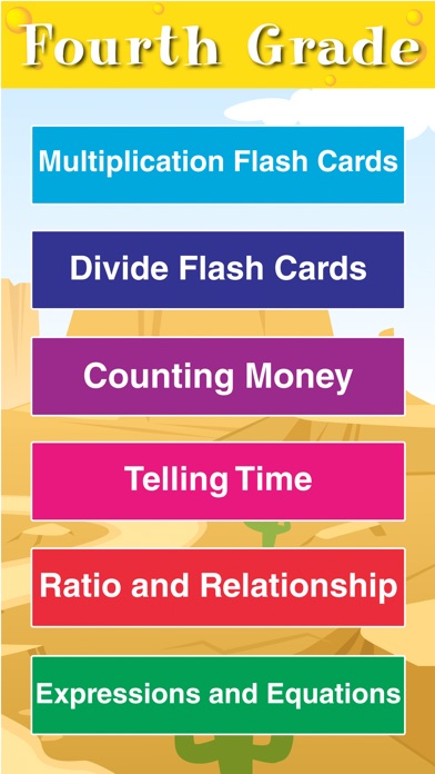 4th Grade Math Gonzales Mouse Brain Fun Flash Cards Games App