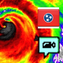 Tennessee NOAA Radar with Traffic Cameras 3D
