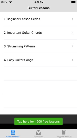 Beginner Guitar Songs On The App Store