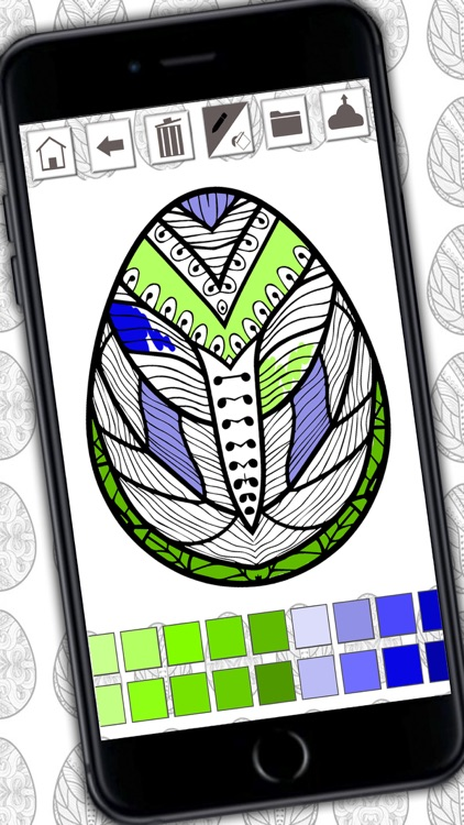 Easter mandalas coloring book – Secret Garden colorfy game for adults
