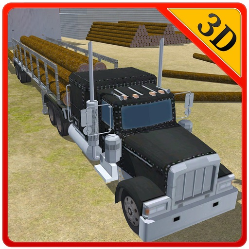 3D Logging Truck Driver – Drive mega cargo lorry in this driving simulator game