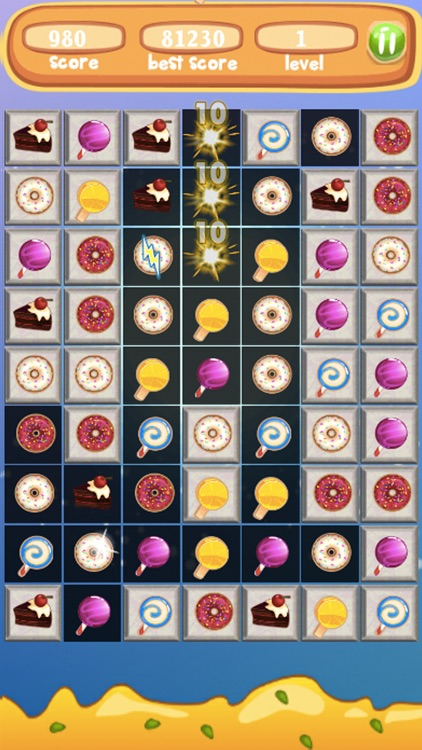Sweet Blast Cupcake- Amazing Match3 Puzzle screenshot-0