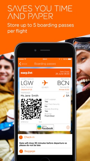 how to add boarding pass to apple wallet easyjet