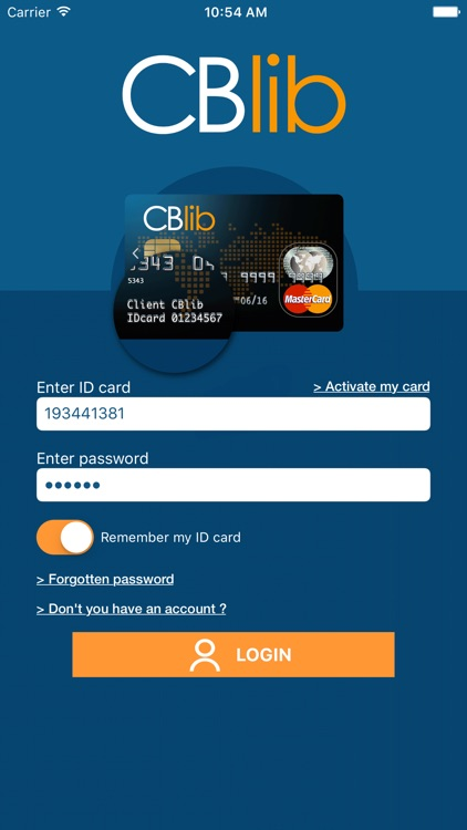 CBlib - Manage your cards screenshot-0