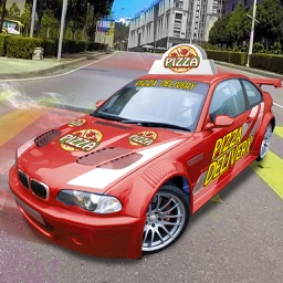 Drive Pizza Delivery Car 3D