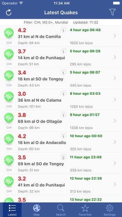Screenshot for Terremoto! in Peru App Store