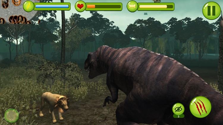 Extreme Wild Crazy Dino 3D shooter simulator game screenshot-4