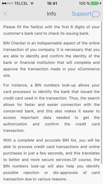 BIN Check by Mihai Ghiata
