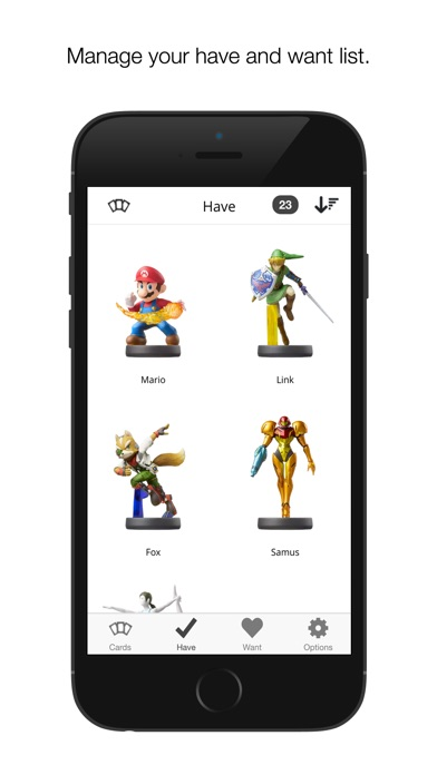 Screenshot for Collect for amiibo in United States App Store
