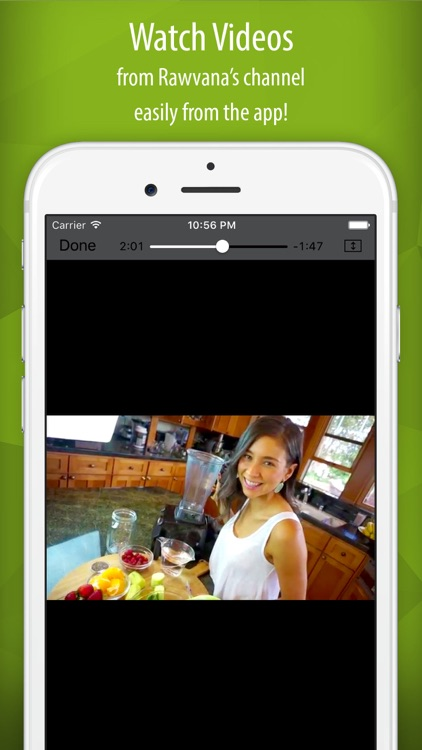 Rawvana's Raw Recipes app image