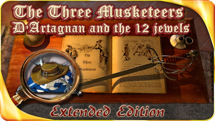 The Three Musketeers - Extended Edition - A Hidden Object Adventure screenshot-0