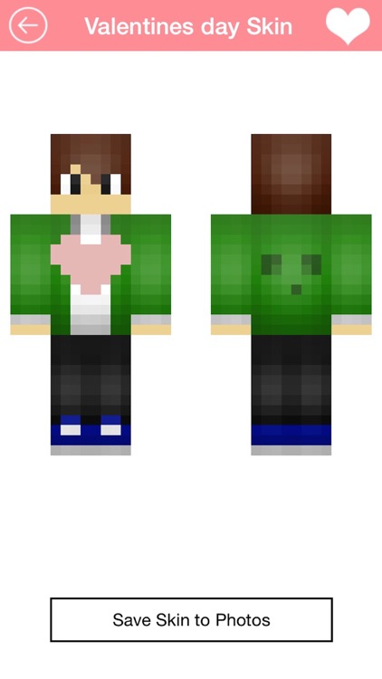 Free Valentine Skins for Minecraft PE
