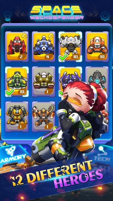 Space:MechDefender screenshot two