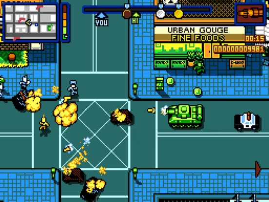 Screenshot #2 for Retro City Rampage DX