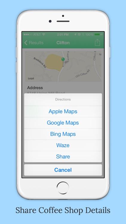 CoffeeFind - Find Coffee Shops Nearby screenshot-4