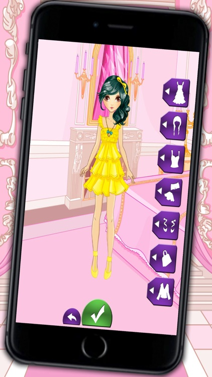 Fashion and design games – dress up catwalk models and fashion girls