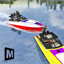 Boat Driving 3D: Crime Chase