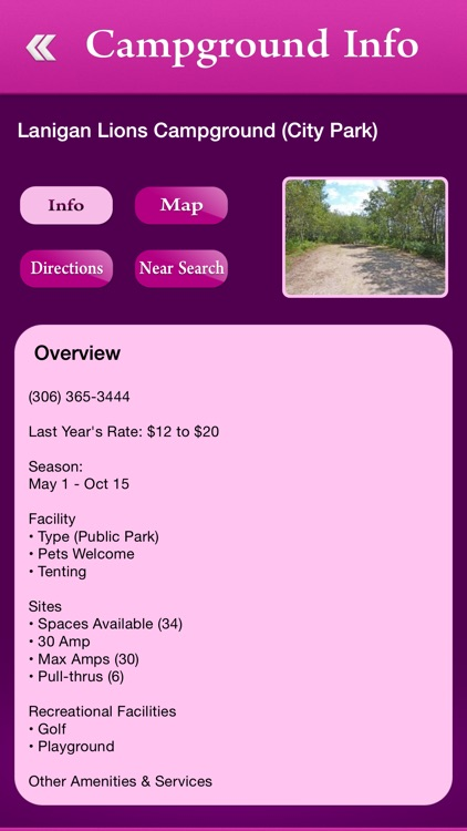 Saskatchewan Campgrounds and RV Parks
