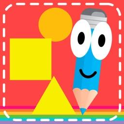 Montessori tracing and coloring games for kindergarten kids