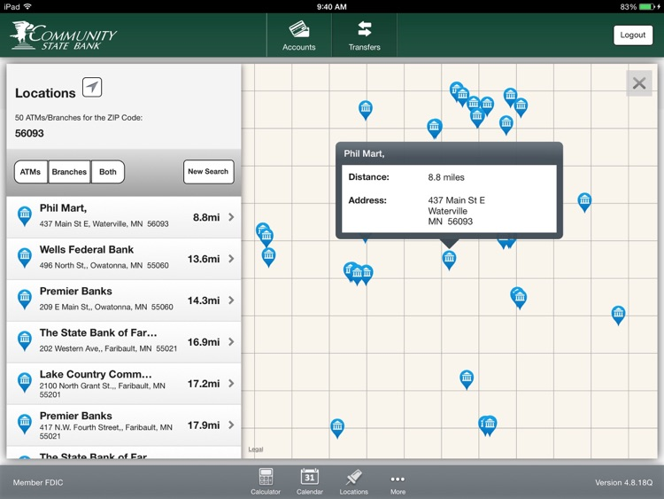 CSB Simple Banking for iPad screenshot-4