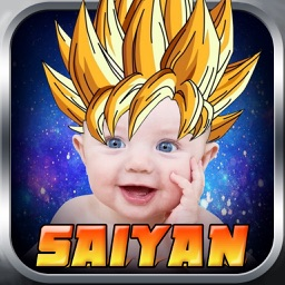 Super Saiyan Sticker Camera - Cartoon & Manga Photo Booth for Hair Goku