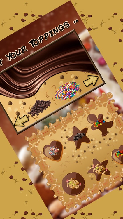 Creative Cookie Maker Chef - Make, bake & decorate different shapes of cookies in this kitchen cooking and baking game screenshot-4