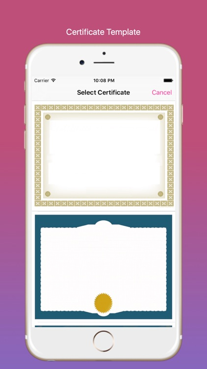 Certificate Maker screenshot-4