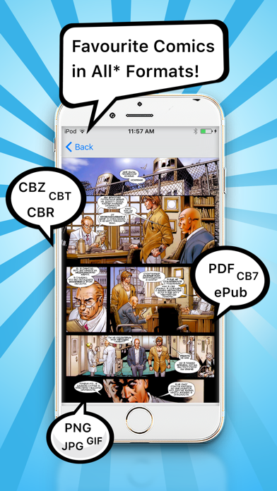 Comic Book Reader - Comic Reader + PDF Viewerのおすすめ画像1