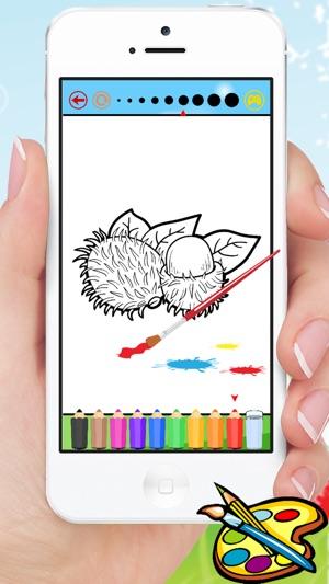 Alimentación libro para colorear para los niños - juegos de dibujo ...
