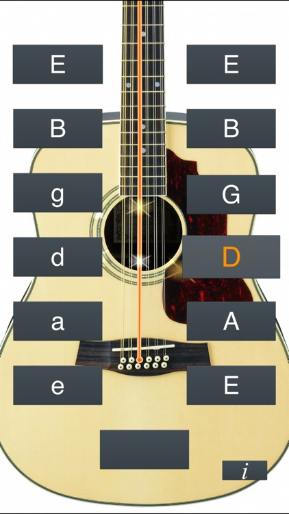 12-String Guitar Tuner Simple screenshot-4