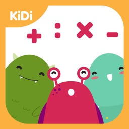 Kidi Monster Math - Learn Math in Easy and Fun Way!