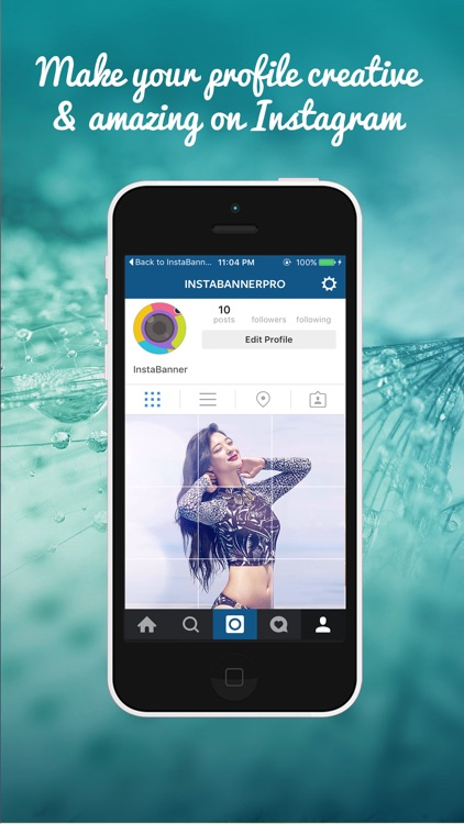IGGrids – Pro Crop Your Photos In Banners / Tiles For Instagram Profile View screenshot-0