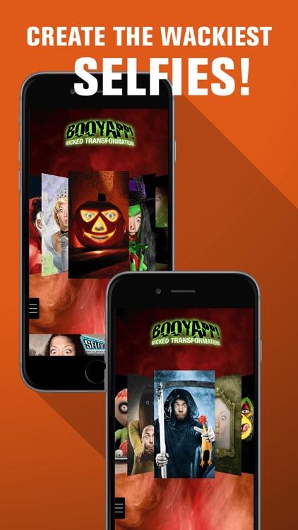 Halloween Photo Booth: Freaky Ghost Face Selfie Prank
