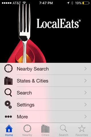 LocalEats screenshot 1
