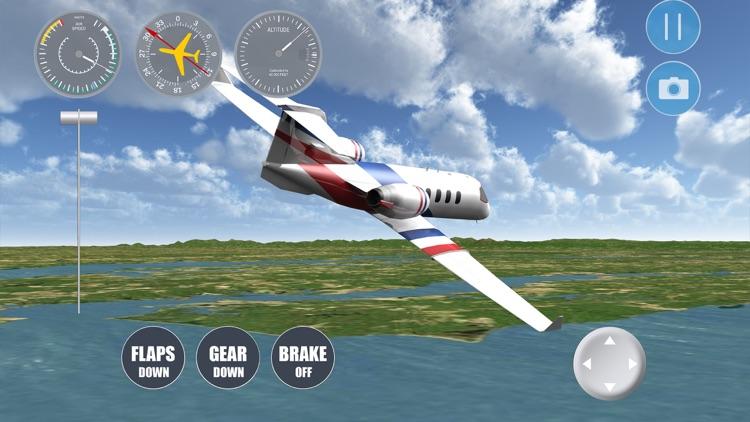 Airplane Washington DC screenshot-3