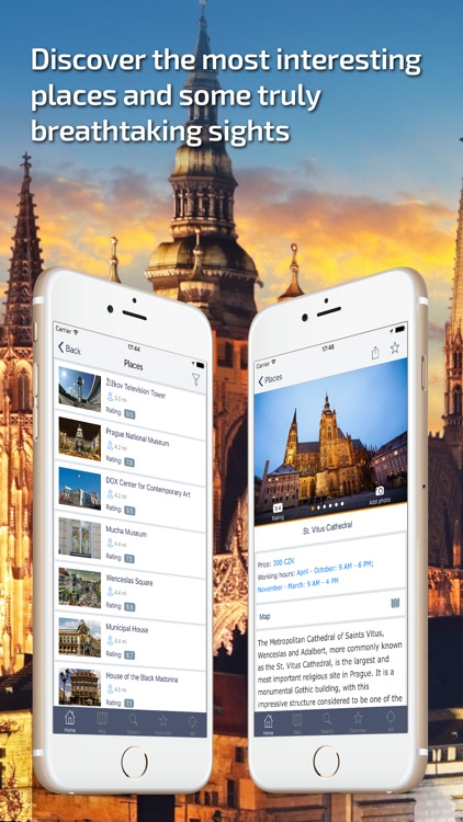 Prague - Offline Travel Guide