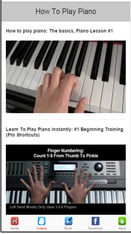 Learn to Play Piano‎ -  Simple Tips for Playing The Piano screenshot-2