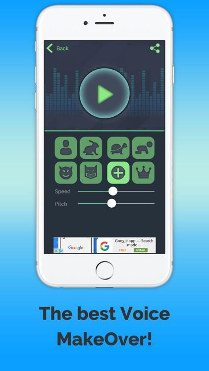 VoiceChange-me screenshot-4