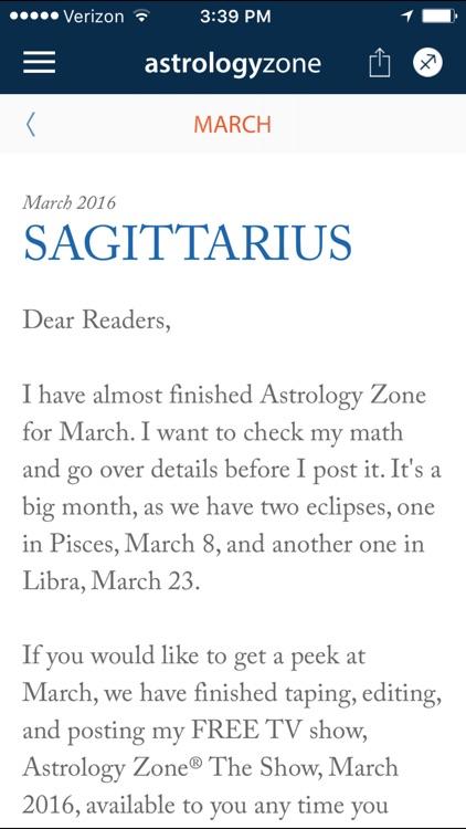 Susan Miller's Astrology Zone