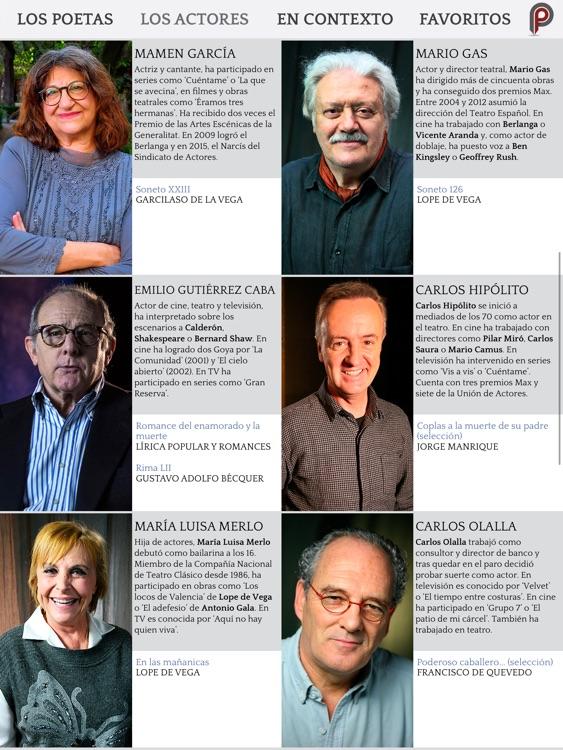 Poética 2.0: Poesía Española screenshot-3
