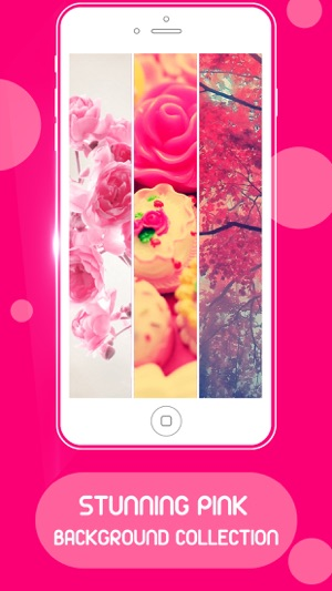 Pink live wallpaper photos hd on the app store altavistaventures Image collections